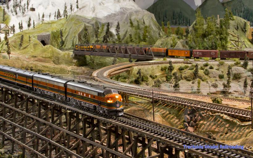 Trackside Model Railroading Latah County RR Club HO Scale Latah Railway