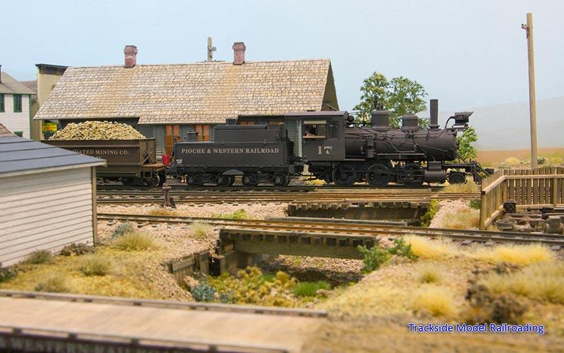 Trackside Model Railroading Bob Christopherson's S Scale Pioche & Western Mining Railroad