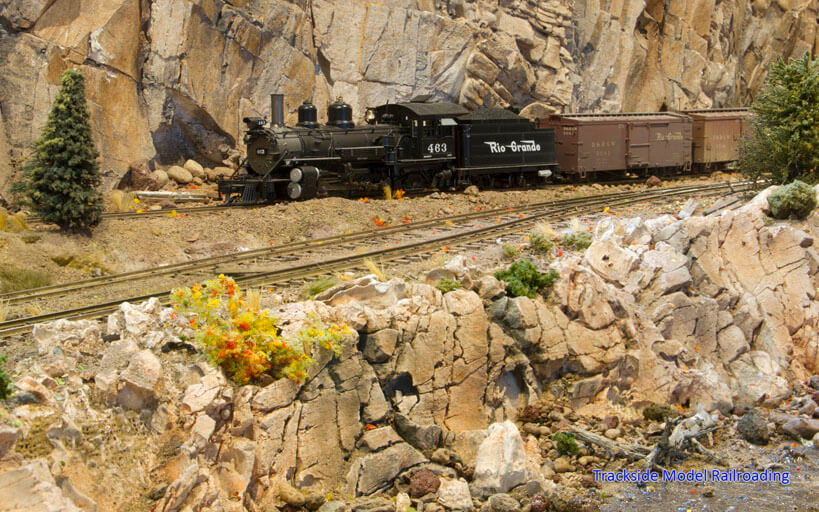 Trackside Model Railroading Barry and Janice Dupler's HO Scale South Park Branch