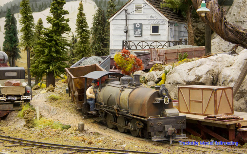 Trackside Model Railroading Greg Wright's 1:32 Scale Consolidated Republic Mining Railroad