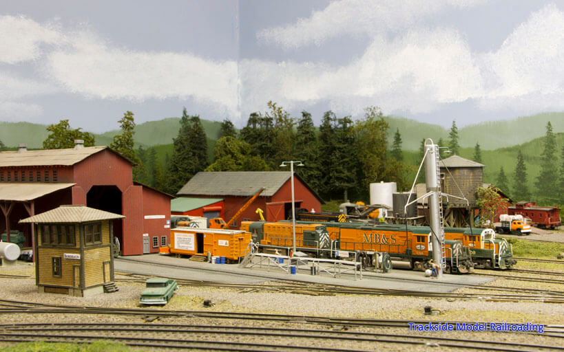 Trackside Model Railroading Jim Younkins' N Scale Mud Bay & Southern Railway