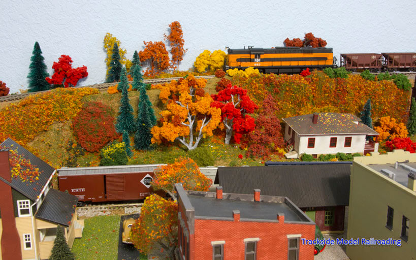 Trackside Model Railroading Diane Kraus' HO Scale Bessemer & Lake Erie Railroad