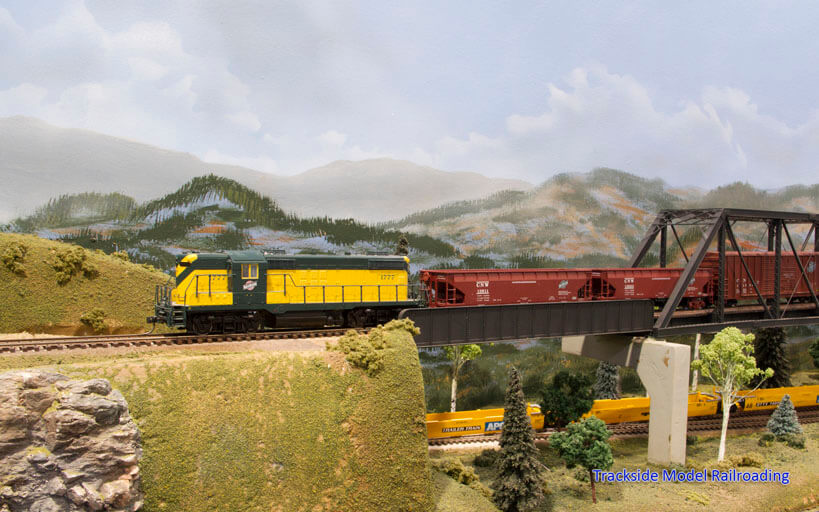 Trackside Model Railroading Rainier Great Western Railway