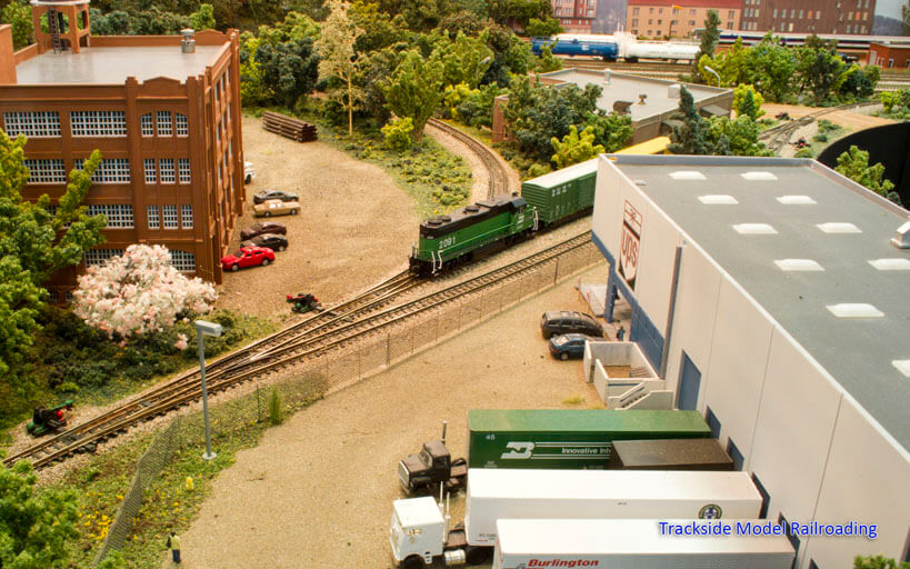 Trackside Model Railroading N Scale Pilchuck Division of the Burlington Northern Santa Fe