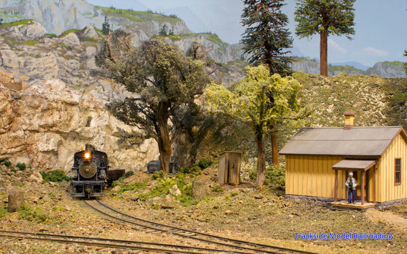 Trackside Model Railroading Russ Segner's Sn3 scale Coal Creek Lumber Company