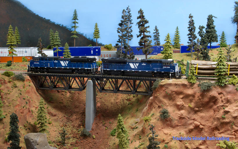 Trackside Model Railroading Bill Zickert's HO scale 3rd Subdivision of the Montana Rail Link