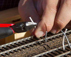 Wiring Track for Your Model Railroad