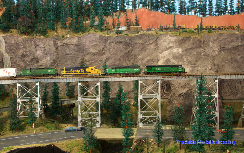 Trackside Model Railroading Rick Uhlenkott's N Scale Leisure Prairie Railroad