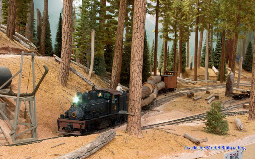 Trackside Model Railroading Ken Larson's O Scale West Side Lumber Company