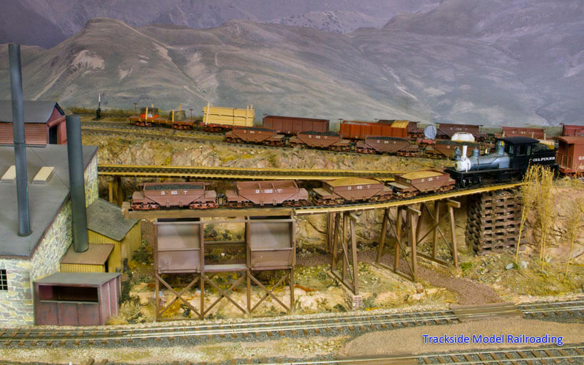 Trackside Model Railroading Gary Jordan's O Scale Gilpin Tramway