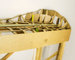 Installing Cardboard Webbing for Scenery for Your Model Railroad