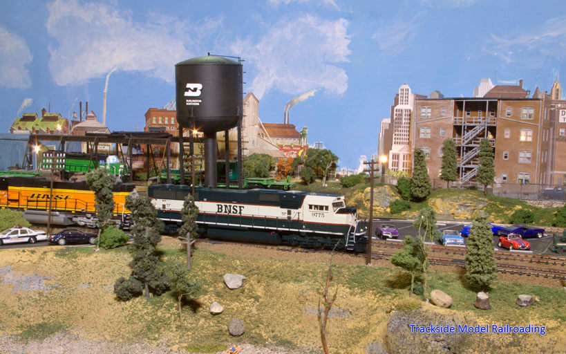 Trackside Model Railroading Gary Walker's HO Scale Burlington Northern Pacific Coast