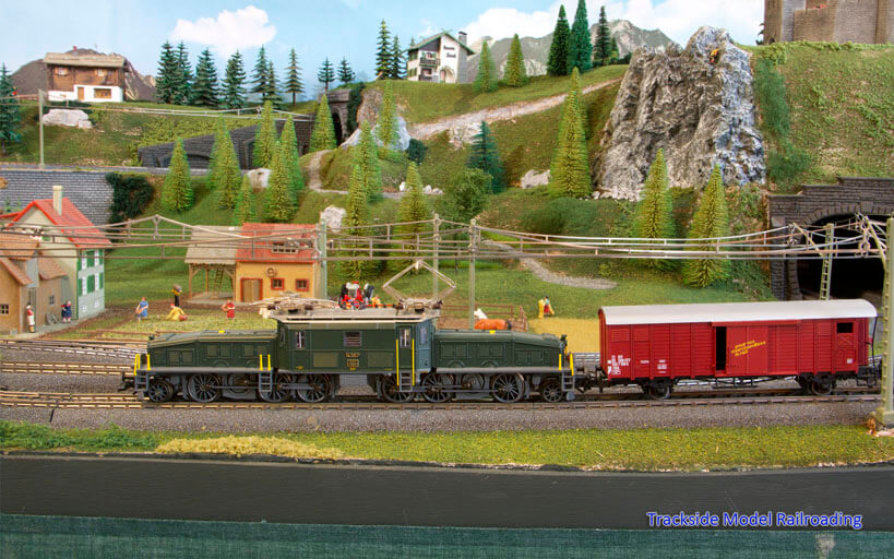 Trackside Model Railroading Peter Lofgren's HO Scale Storybook Schleching, Germany