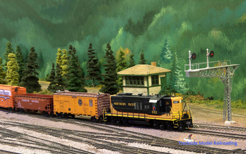 Trackside Model Railroading Lewis County Model Railroad Club HO Scale Chehalis Pacific Railroad