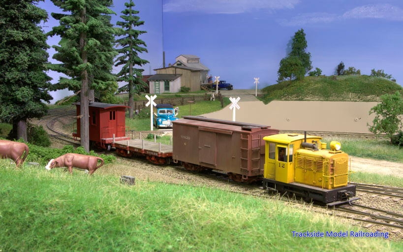 Trackside Model Railroading Kevin Miller's O Scale RAILROAD1