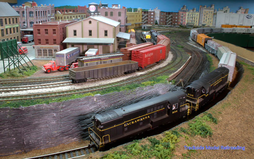 Trackside Model Railroading Bob Stafford's HO Scale RAILROAD2