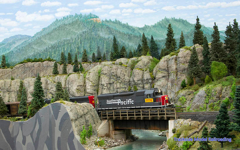 Trackside Model Railroading Mike McGinley's HO Scale Southwestern Pacific