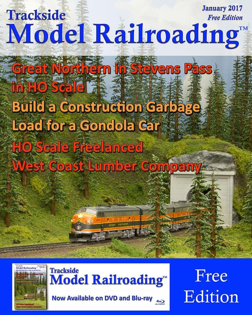 January 2017 Free Edition of Trackside Model Railroading