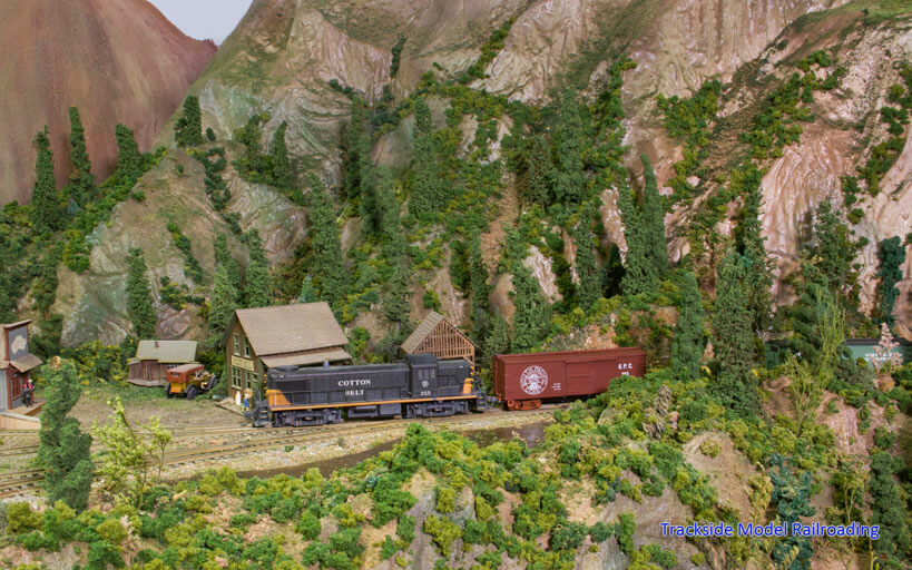 Trackside Model Railroading Ron Ippoliti models the freelanced Washoe Valley Connecting Railway, inspired by the Virginia & Truckee.