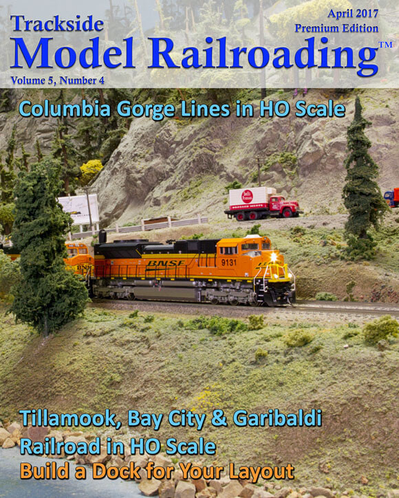 Trackdside Model Railroading April 2017 Cover