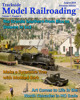 August 2019 Model Railroad Free Edition Videos | Trackside
