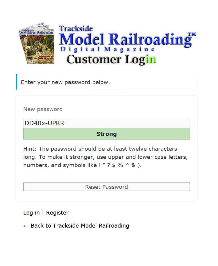 Password Reset Part 3