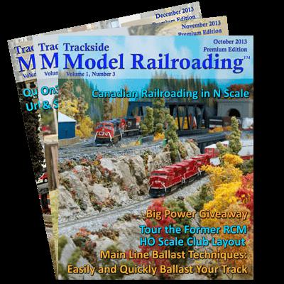Model Railroad 2013 Covers