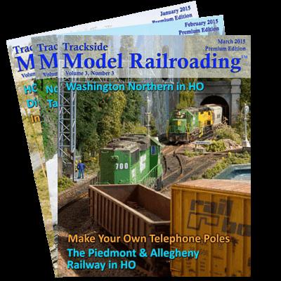 Model Railroad 2015 Covers