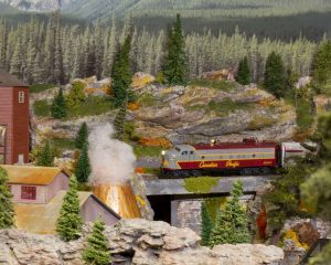 Canadian Pacific HO scale model train in Trackside Model Railroading digital magazine