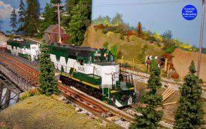 G scale model railroad in Trackside Model Railroading